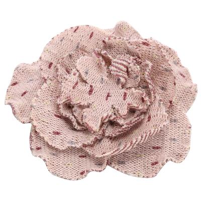 AAMILANO 粉混色布料胸花