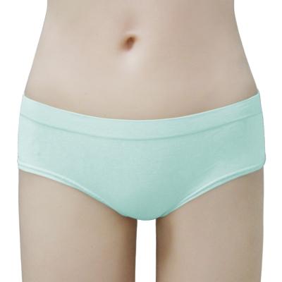 瑪登瑪朵-2014SS低腰寬邊三角無縫褲(溫藍)