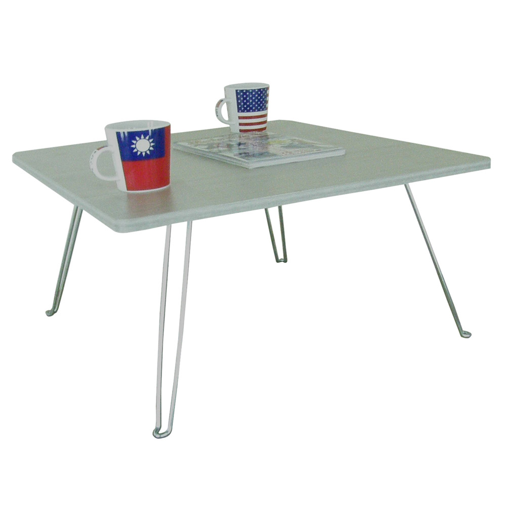 【美耐】折疊桌/和室桌-中(美耐皿板面-橡牙白色)