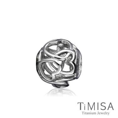 TiMISA 心心相印 純鈦飾品 串珠