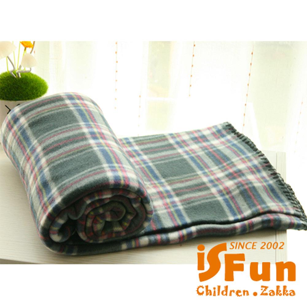 iSFun 兒童毛毯 加大珊瑚絨嬰兒被毛毯 隨機色