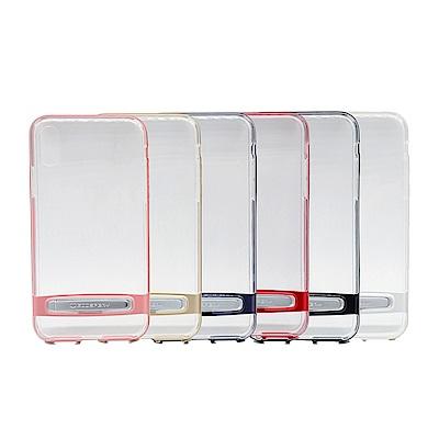 GOOSPERY Apple iPhone X Dream Bumper透明支架...