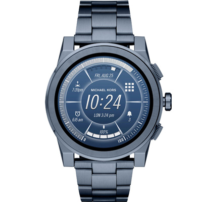 Michael Kors Access 智慧型腕錶(MKT5028)藍色/47mm