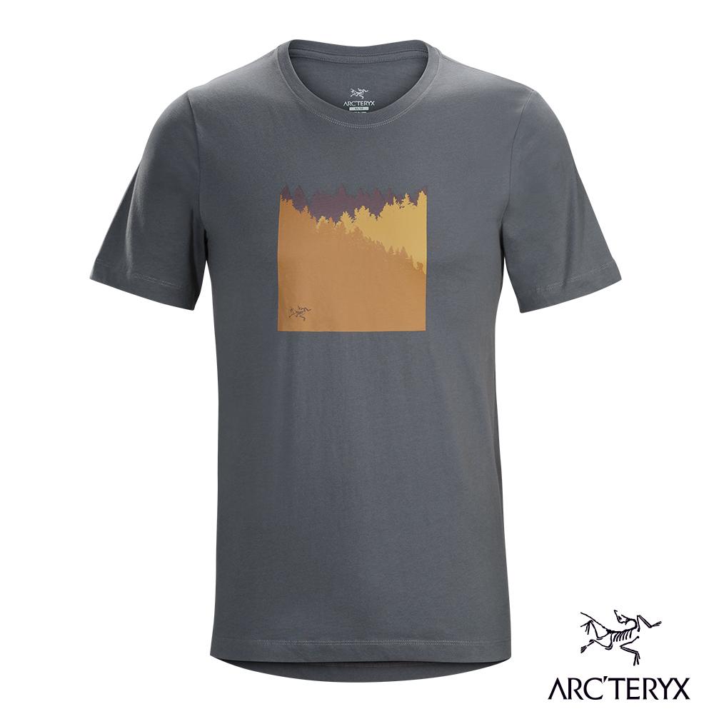 Arcteryx 24系列 男 有機棉 SUBALPINE 短袖T恤 機長灰