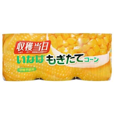 日本稻葉 鮮採金黃玉米粒(200gx3入)