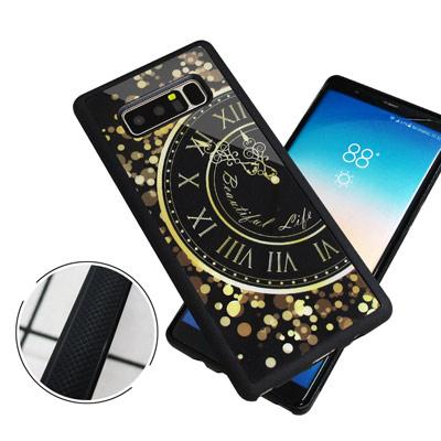 石墨黑系列 Samsung Galaxy Note 8 高質感側邊防滑手機殼(時...