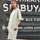 FILA #東京企劃 女針織洋裝-淺麻灰5DRS-1411-MY