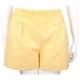 SCERVINO 黃色織花設計短褲 product thumbnail 1