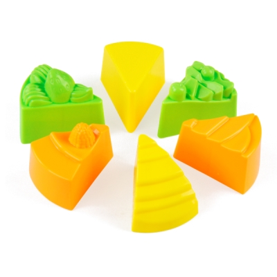 生日蛋糕模具組 TUMBLING SAND 翻滾動力沙玩沙模具