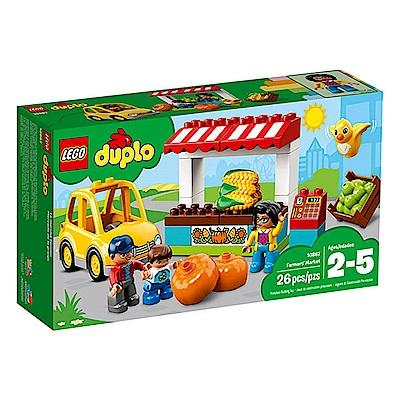 LEGO樂高  得寶系列 10867 農夫市場