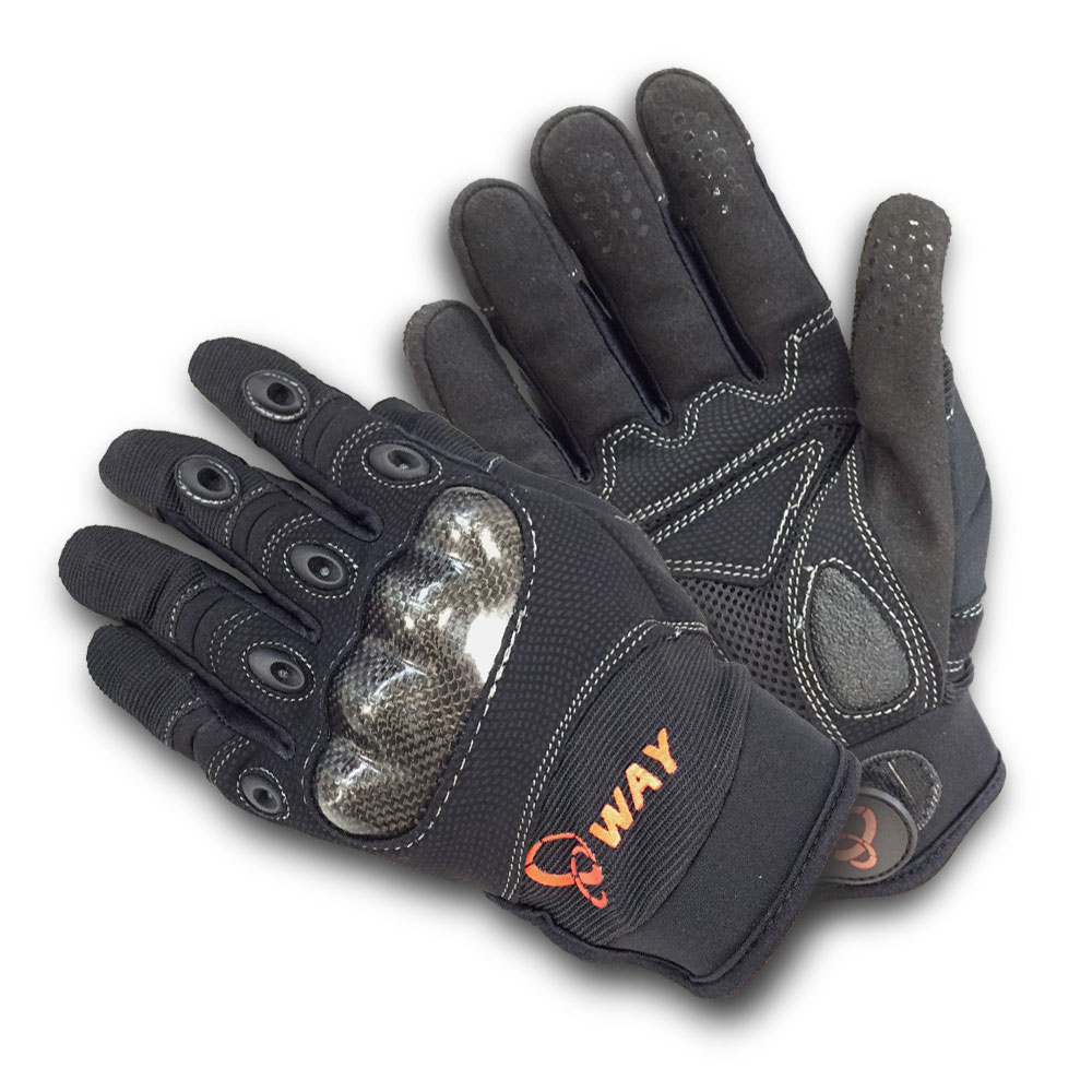 WAY-001 防摔、透氣、保暖、防風、防滑、耐寒手套多用途合一-快