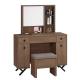 Boden-洛克3.3尺化妝桌/鏡台(贈化妝椅)-100x40x136cm product thumbnail 1
