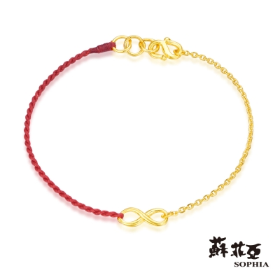 蘇菲亞SOPHIA - G LOVER系列希望無限黃金手環