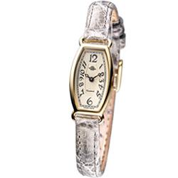 Rosemont 玫瑰皇后 時尚錶-灰色皮/14mm