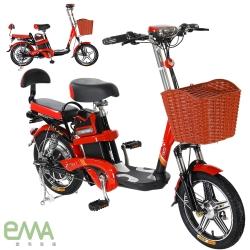 【 EMA 】EF-688 馬力歐 48V鋰電 LED超亮大燈 輕便 電動輔助自行車