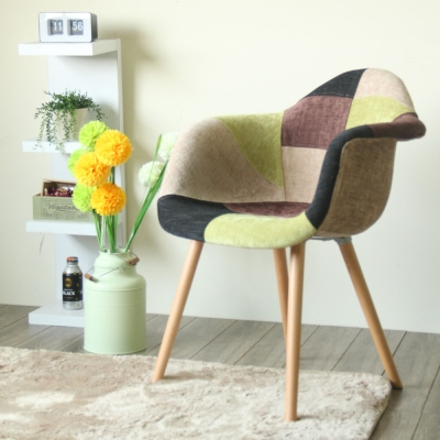 【YKSHOUSE】Eddie。艾迪名品風造型椅(五色可選)