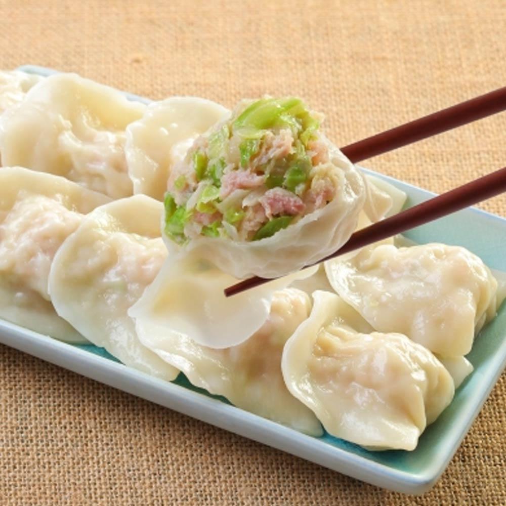 台北士東市場123水餃 雞肉高麗菜水餃(10顆/盒)