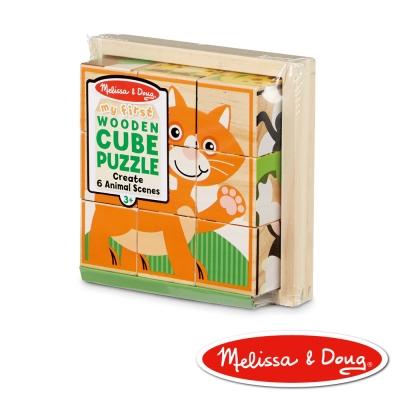 美國瑪莉莎 Melissa & Doug  拼圖 - 可愛動物立體拼圖