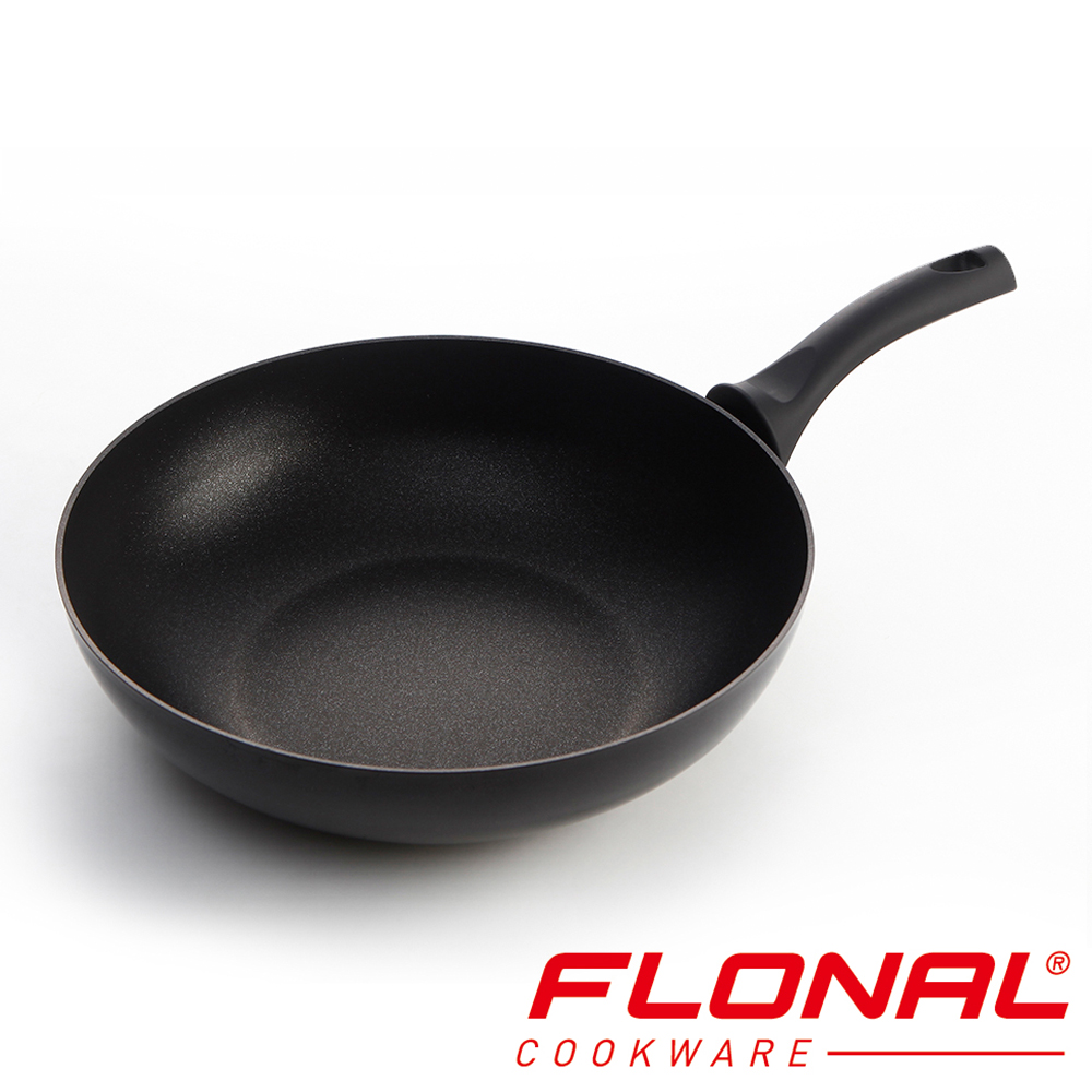 義大利Flonal 鑽石系列不沾炒鍋32cm
