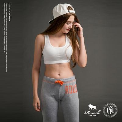 Roush-女生半截式罩杯運動背心-3色