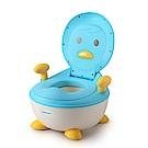 babyhood 企鵝恆溫軟墊座便器-藍色