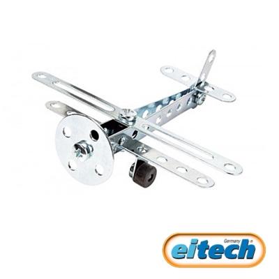 德國eitech益智鋼鐵玩具-迷你雙翼飛機 C53