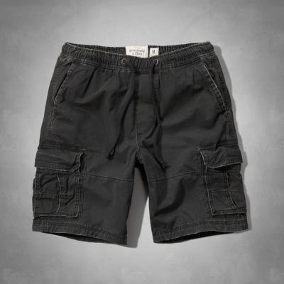 AF a&f Abercrombie & Fitch 短褲 黑色 213