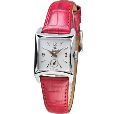 玫瑰錶 Rosemont 戀舊系列時尚腕錶-紅色/22mm