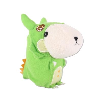 kapibarasan 水豚君恐龍變裝公仔。懷特小姐