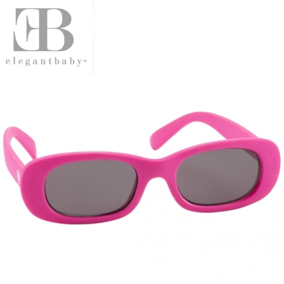 Elegant Baby 覆盆子款抗UV細長鏡框太陽眼鏡