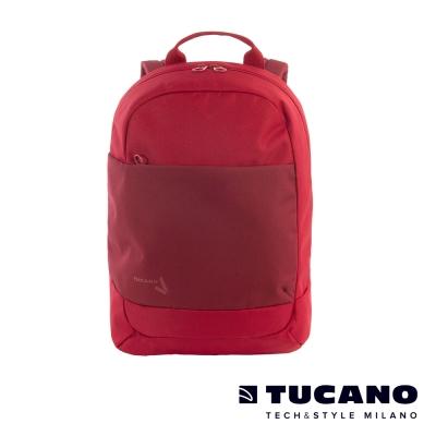 TUCANO SVAGO 輕量休閒後背包(可裝載15.6吋筆電)- 紅