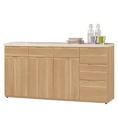 Bernice-維克德5.2尺石面收納餐櫃(下座)-157x41x83cm