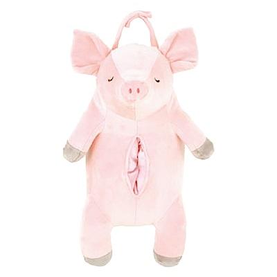 NEMU NEMU  粉紅豬面紙套