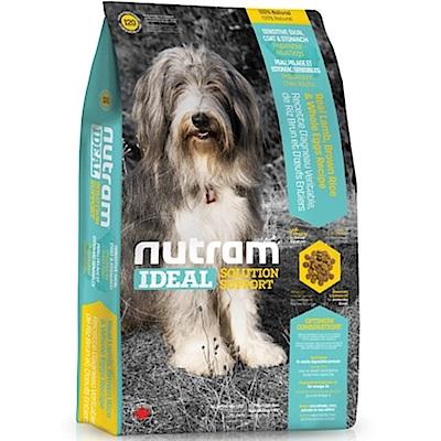 Nutram紐頓 I20三效強化犬/羊肉糙米配方 13.6KG