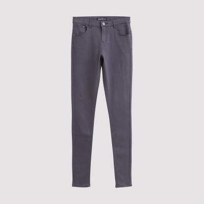 Hang Ten - 女裝 - 彈性修身美型窄管褲-灰