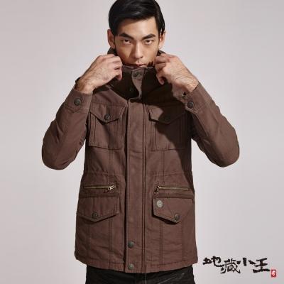 地藏小王-BLUE-WAY-多剪接水洗舖棉外套
