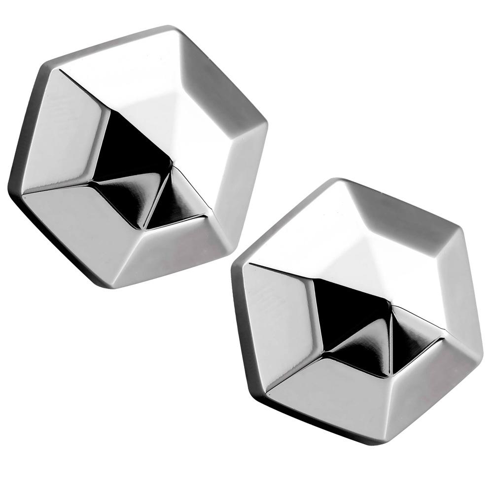 ROYAL DAMON 羅亞戴蒙 完美境界耳環-銀