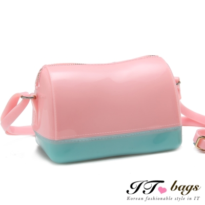It-Bags-甜心教主經典雙色斜背包-共五色