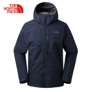The North Face男款藍色GORETEX防水透氣衝鋒衣