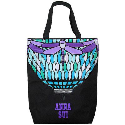 ANNA SUI 安娜蘇 華麗水晶彩繪手提包