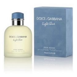 Dolce&Gabbana 淺藍男性淡香水75ml