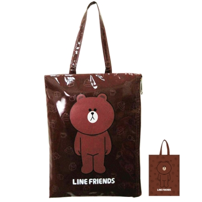 【LINE FRIENDS】熊大輕質造型平板袋(LI_5470)