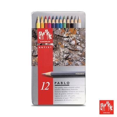 CARAN d'ACHE 卡達 - 專業系列 油性色鉛筆12色