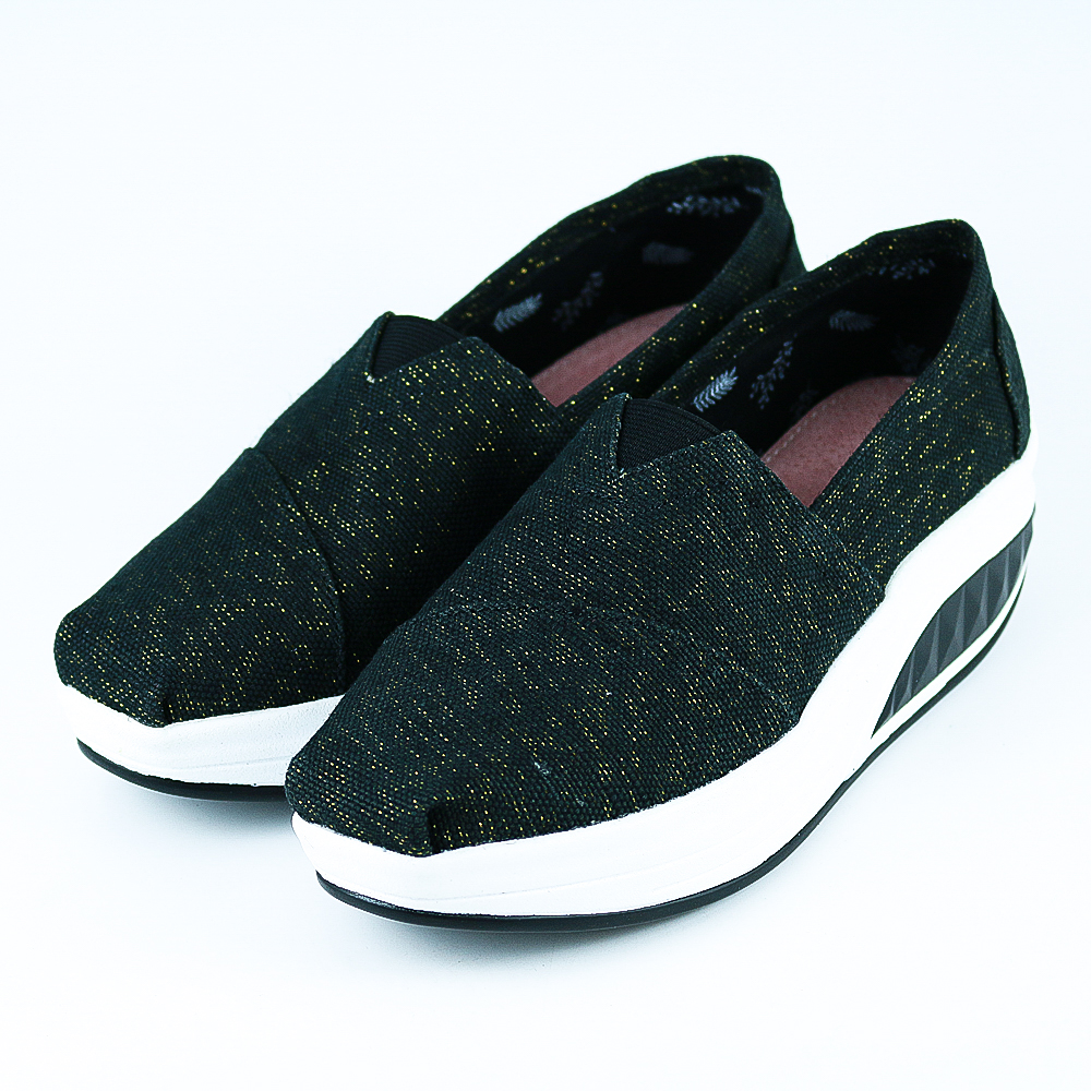 XCESS-女休閒鞋GW041BLK-黑