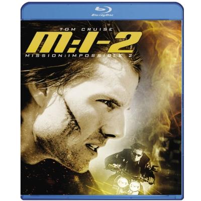 不可能的任務2 Mission Impossible 2 藍光 BD