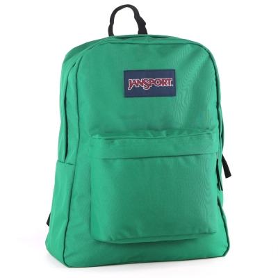 JanSport校園背包(SUPER BREAK)-亞馬遜綠