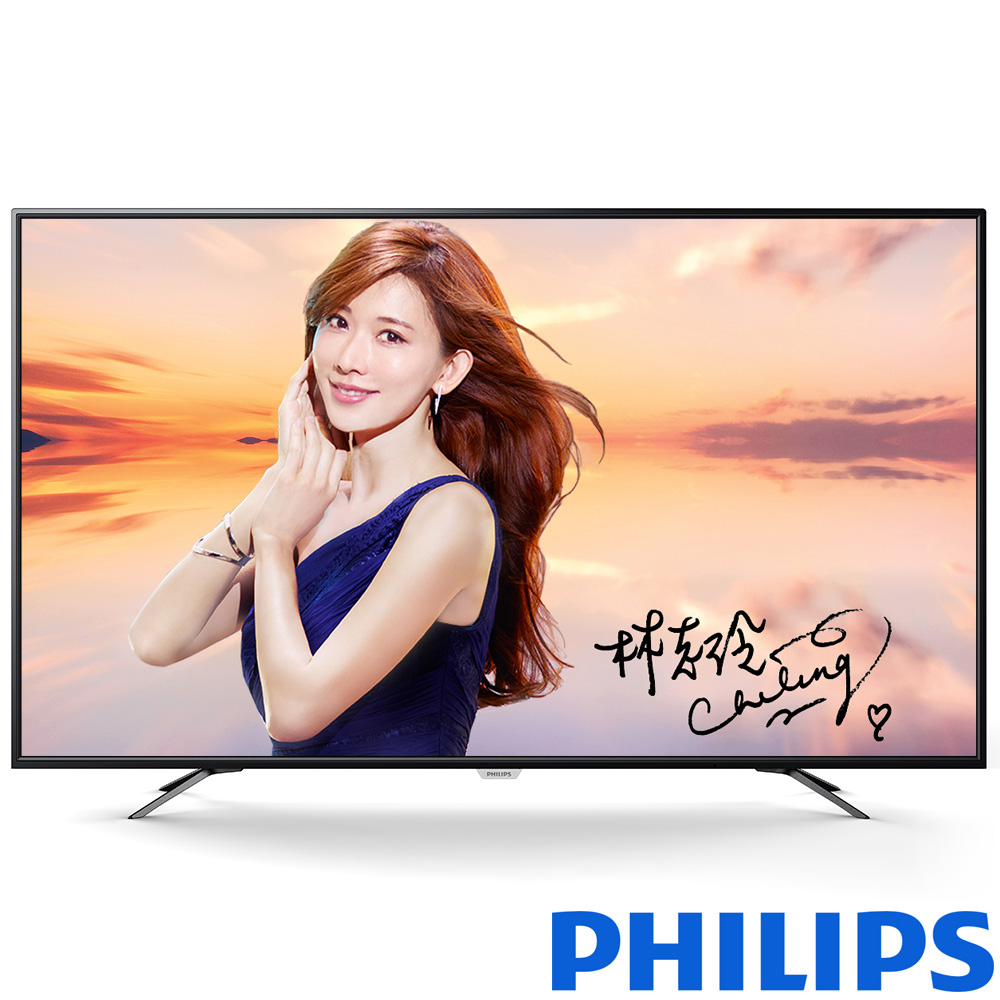 PHILIPS飛利浦 65吋 真4K 液晶顯示器+視訊盒 65PUH6002