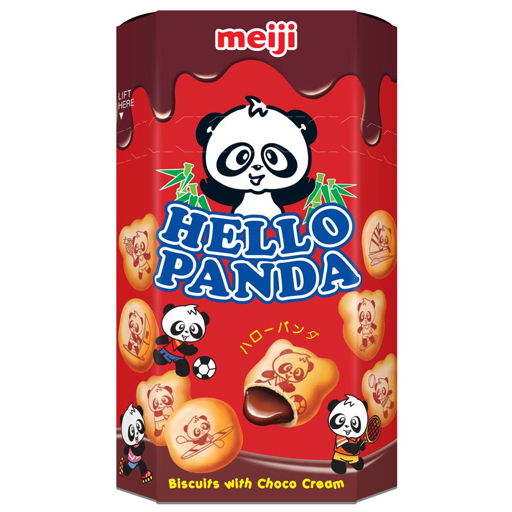 明治 HELLO PANDA貓熊巧克力夾心餅乾(50g)