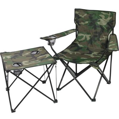 迷幻森林輕量摺疊桌椅組-一桌一椅