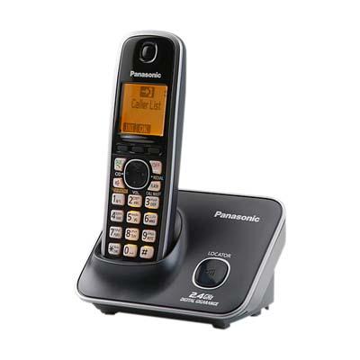 Panasonic  2.4G 數位高頻無線電話KX-TG3711(經典黑)